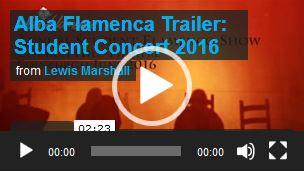 Alba Flamenca student show June 2016